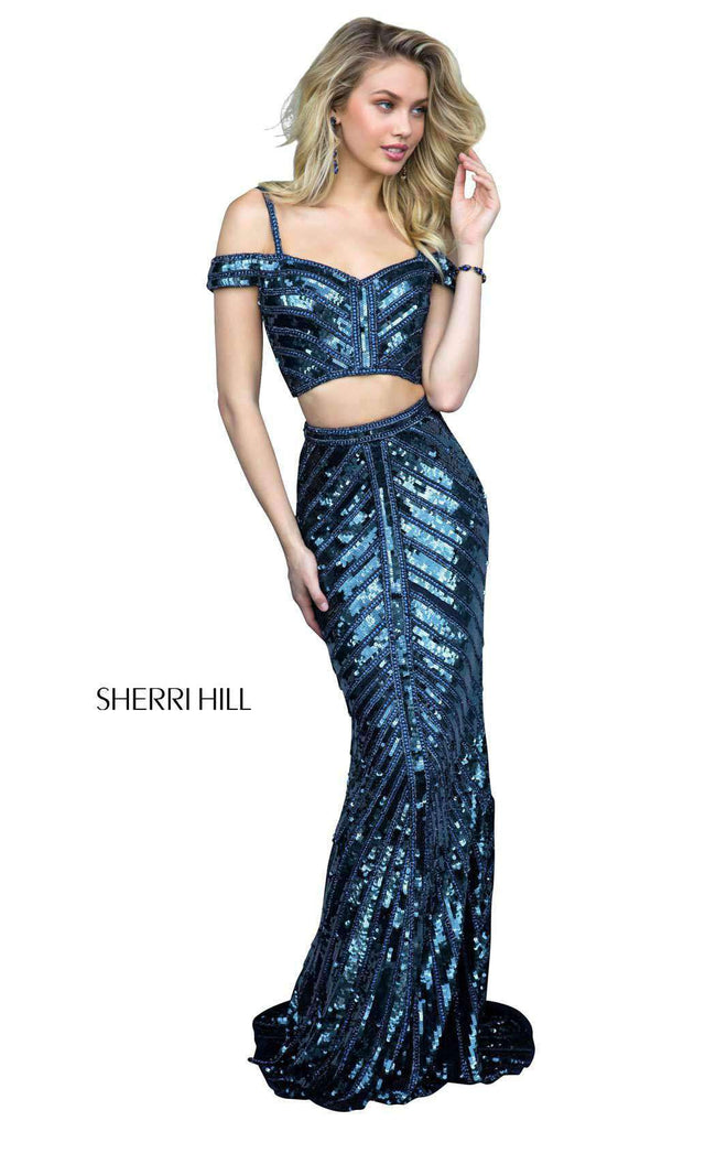 Sherri Hill 51934 Navy