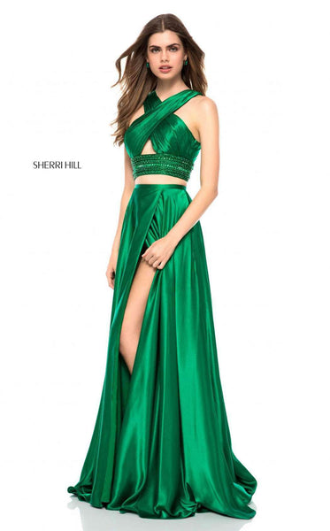 Sherri Hill 52077 Emerald