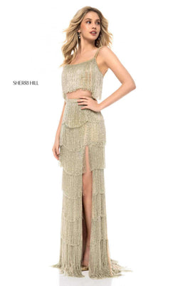 Sherri Hill 52081 Gold