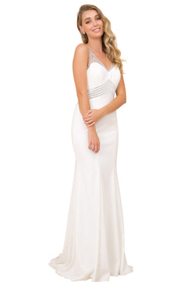 Nox Anabel T253 Dress Ivory