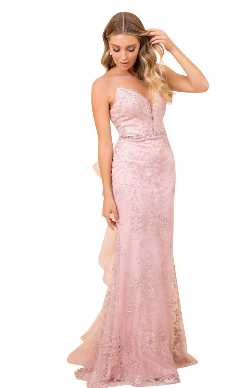 Nox Anabel T314 Dress Rose