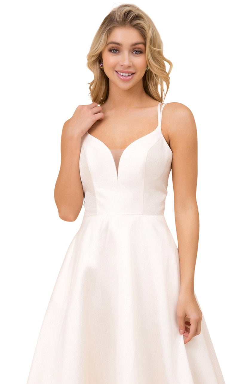 Nox Anabel T406 Dress Cream