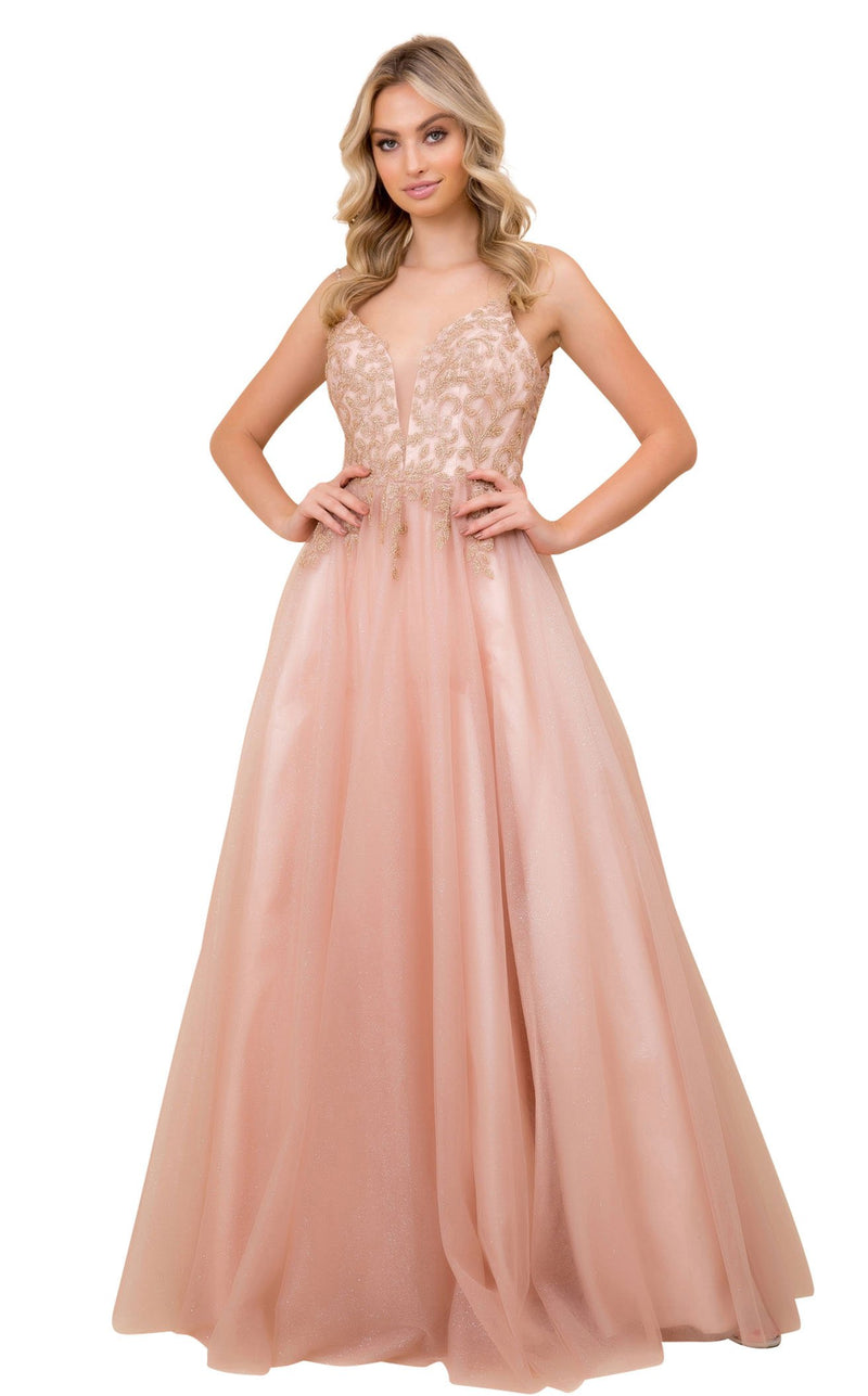 Nox Anabel T407 Dress Rose-Gold