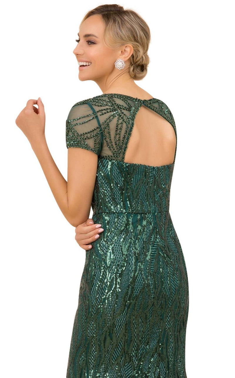Nox Anabel T419 Dress Green
