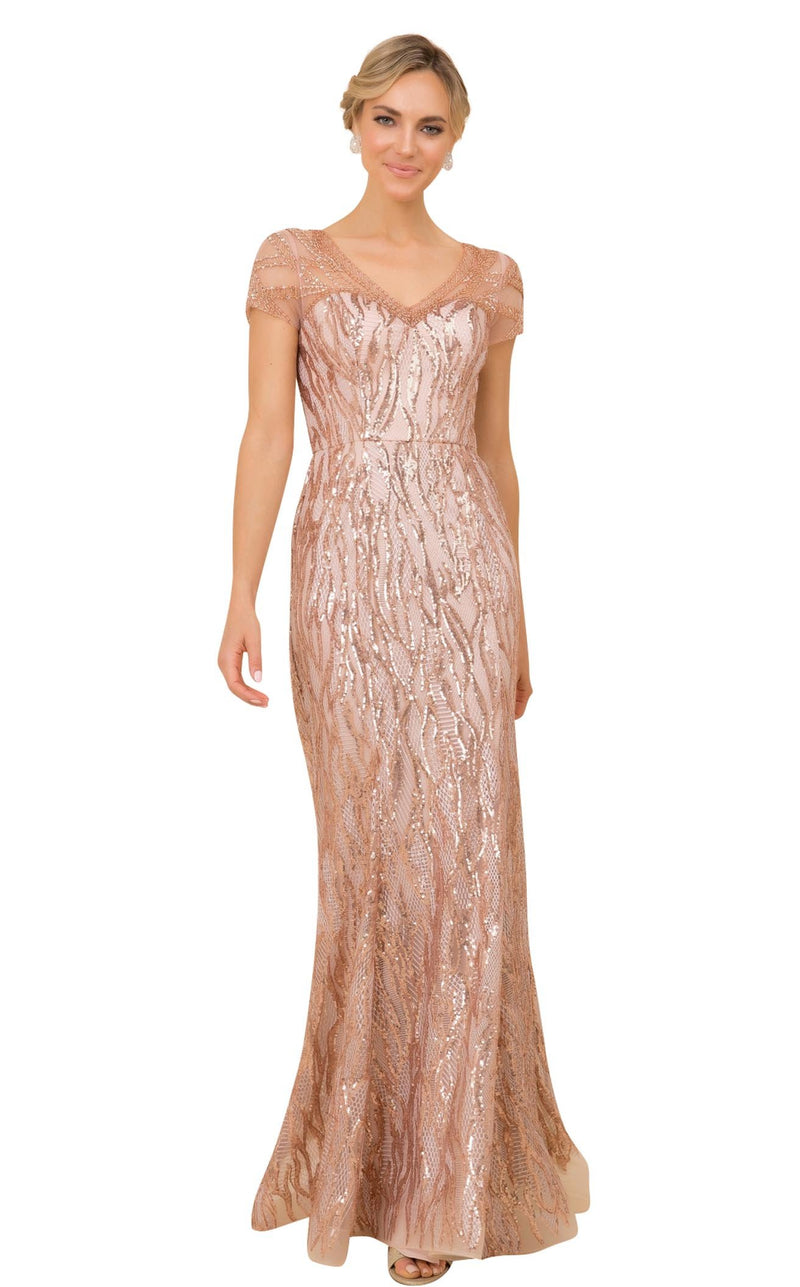 Nox Anabel T419 Dress Rose-Gold