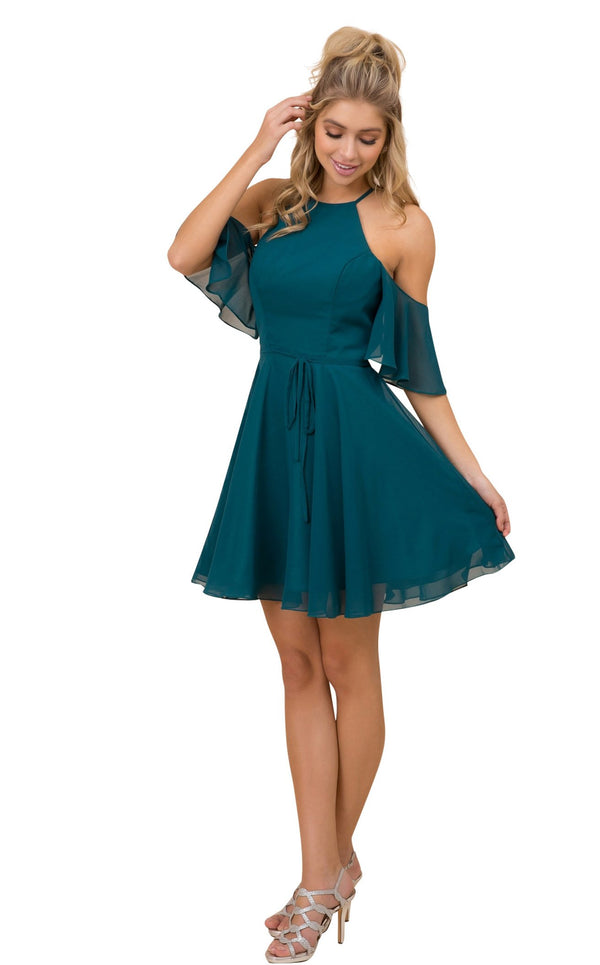 Nox Anabel T667 Dress Green