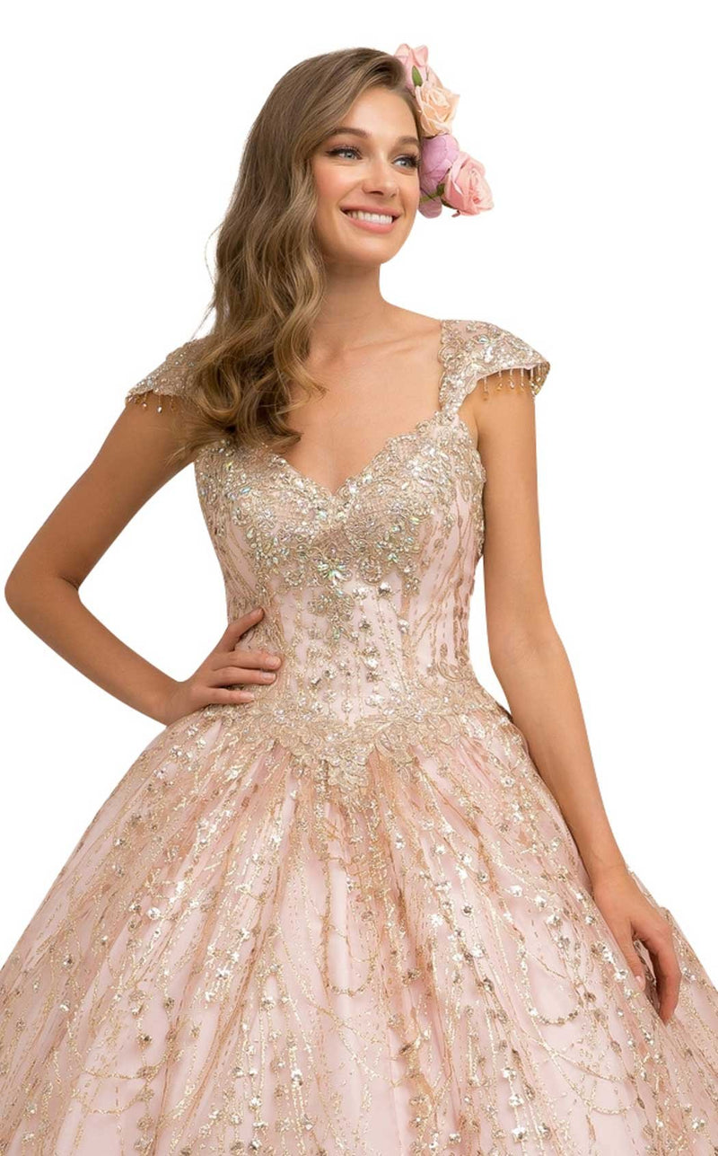 Nox Anabel U803 Dress Rose-Gold