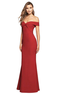 Love Honor Victoria Ruffle Gown