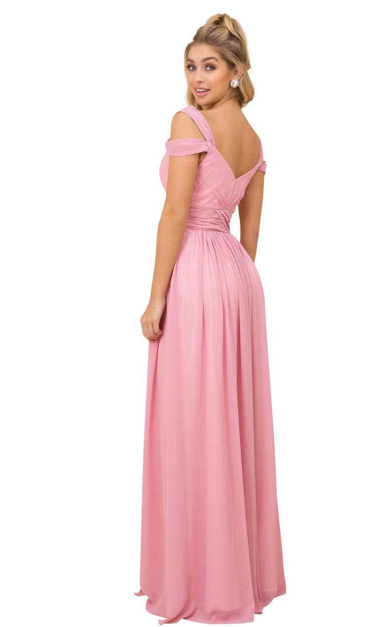 Nox Anabel Y277 Dress Desert-Rose