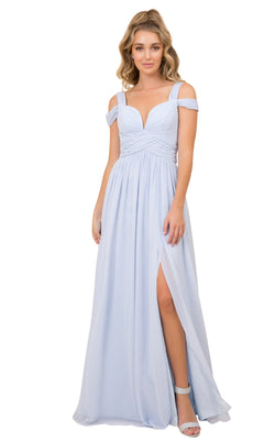 Nox Anabel Y277 Dress Dusty-Blue