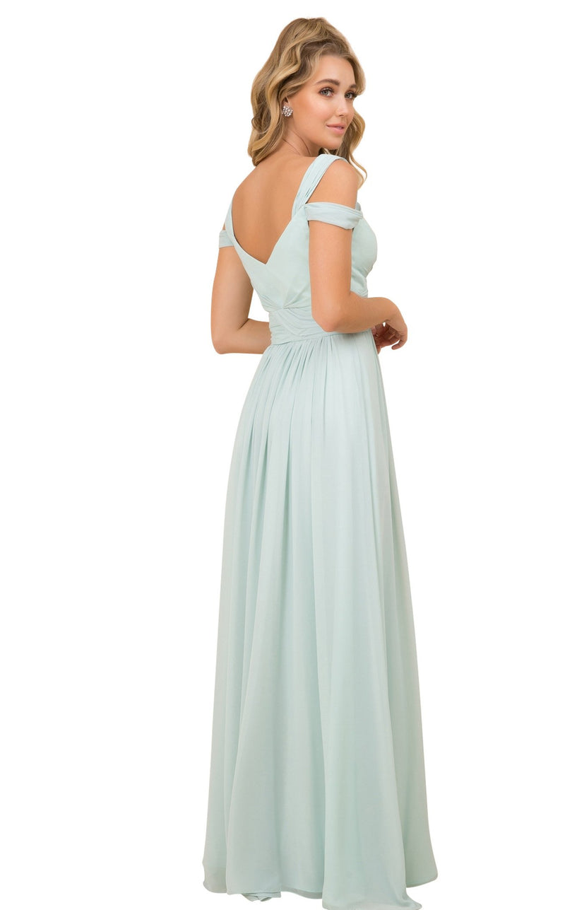 Nox Anabel Y277 Dress Sage-Green