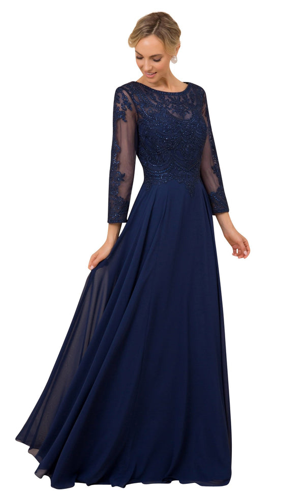 Nox Anabel Y513 Dress Navy