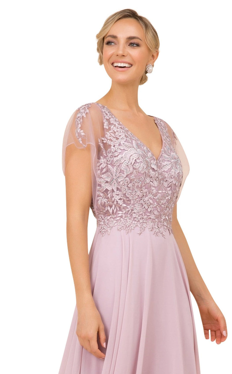 Nox Anabel Y526 Dress Root-Rose