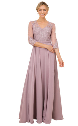 Nox Anabel Y532 Dress Taupe