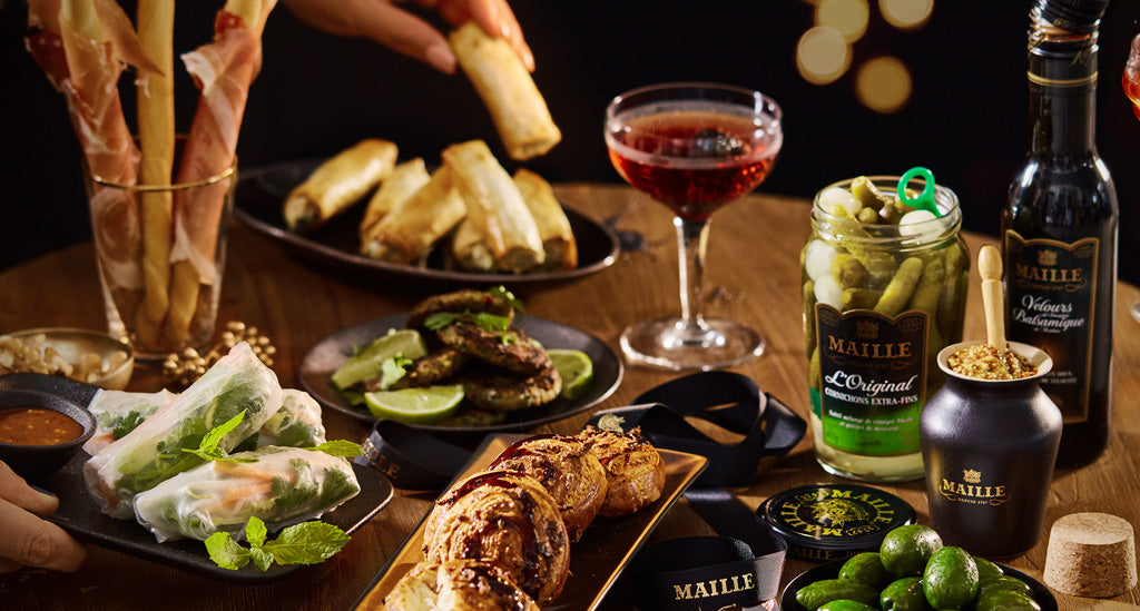 Maille Discovery: New Year's Eve aperitif idea's