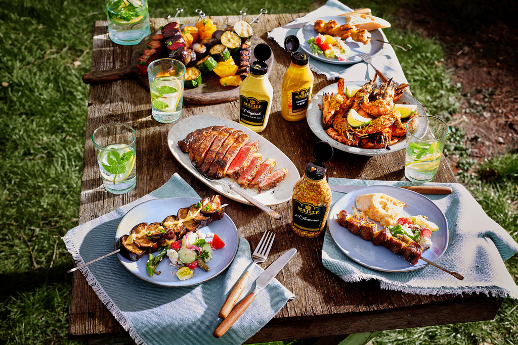 Maille's best Summer BBQ recipe's