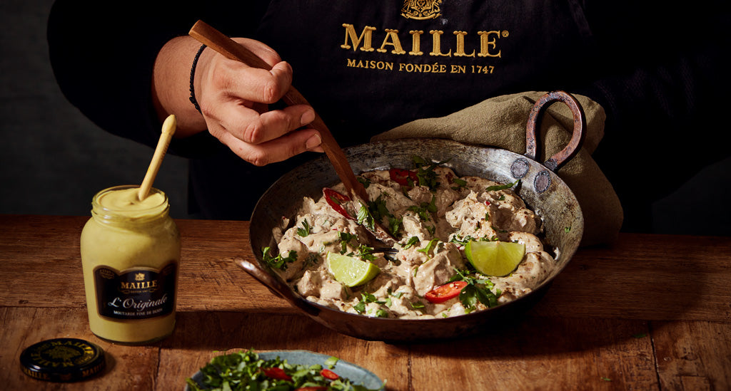 Maille Chicken Curry With Rice