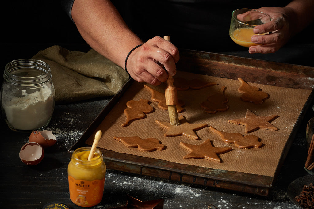 Maille Spice Cookies With Mustard