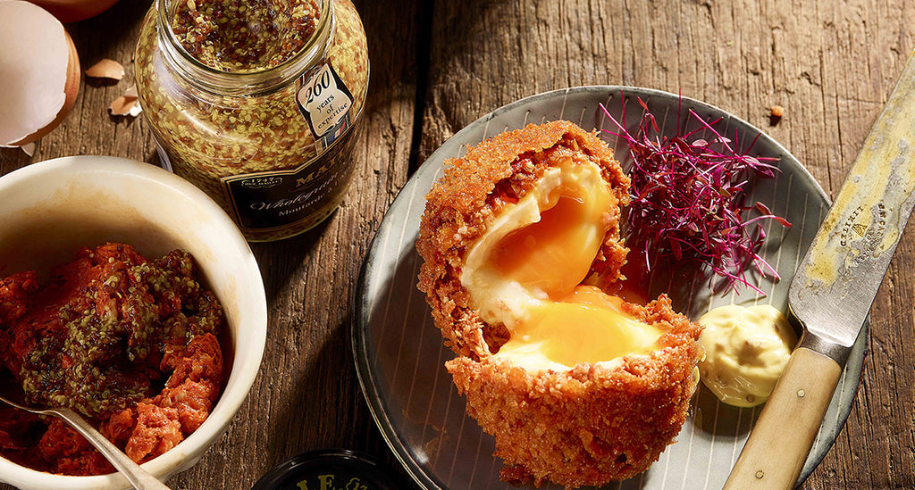 Nduja and Wholegrain Mustard Scotch Egg