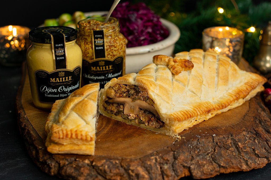 Maille Vegan Christmas Wellington