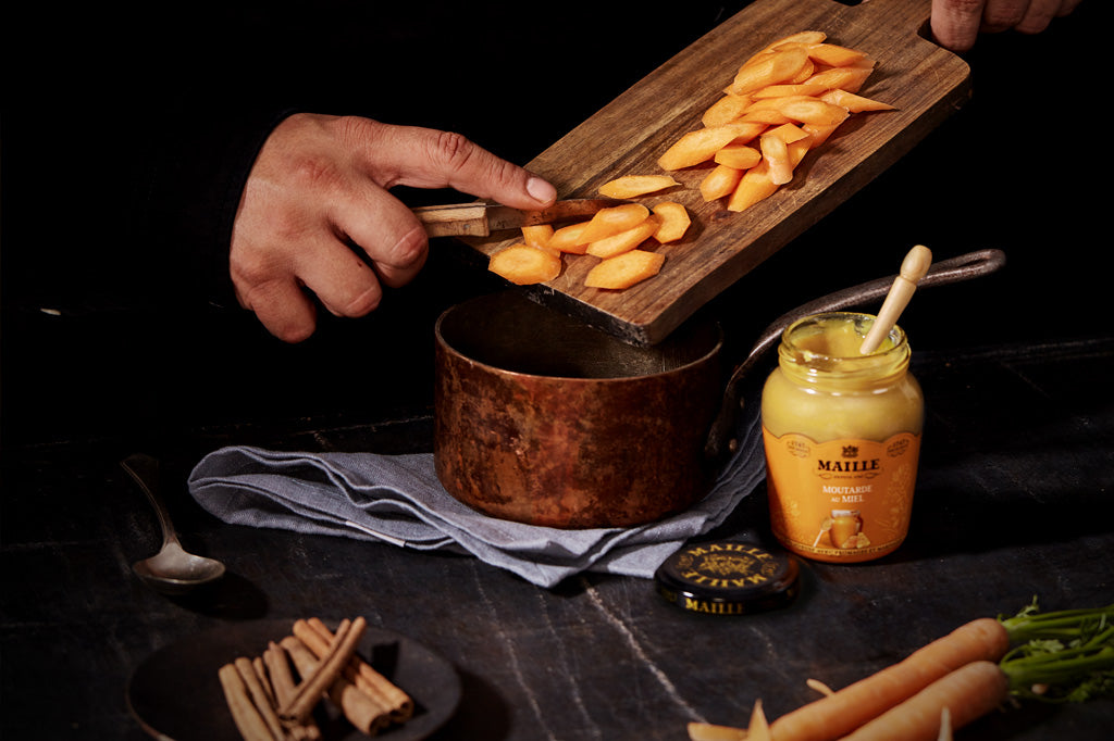 Maille Carrot Glazing Sauce