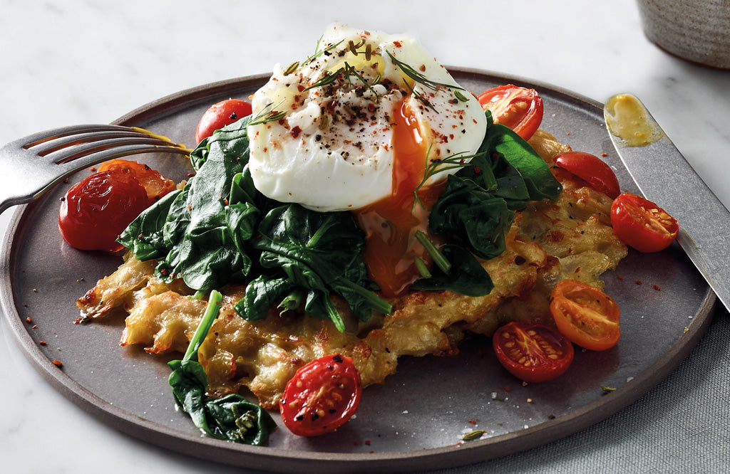 Potato Rosti And Poached Egg