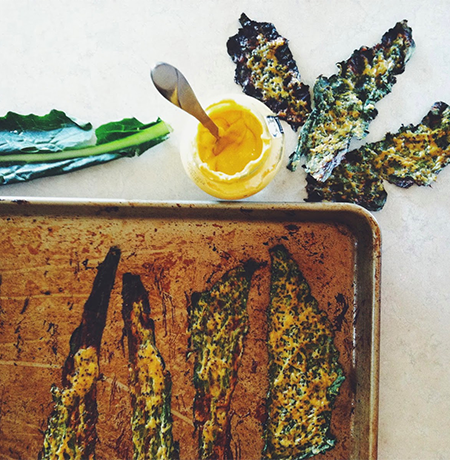 maille dijon kale chips