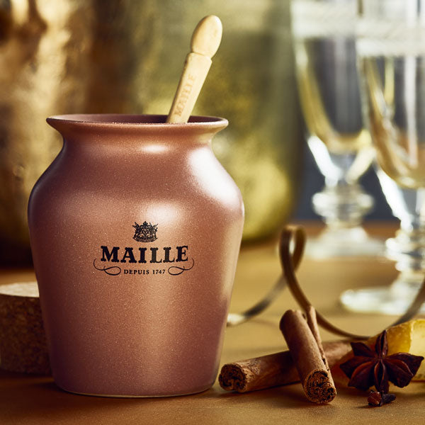 Maille champagne brandy and Christmas spices mustard