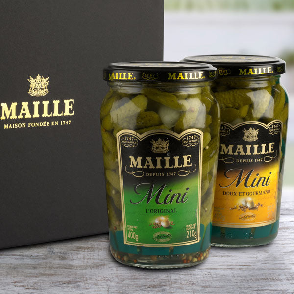 Maille cornichons duo