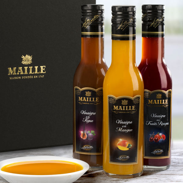 Maille fruity vinegars