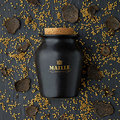 maille black truffle mustard with chablis white wine