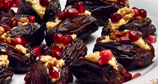 maille mascarpone stuffed dates