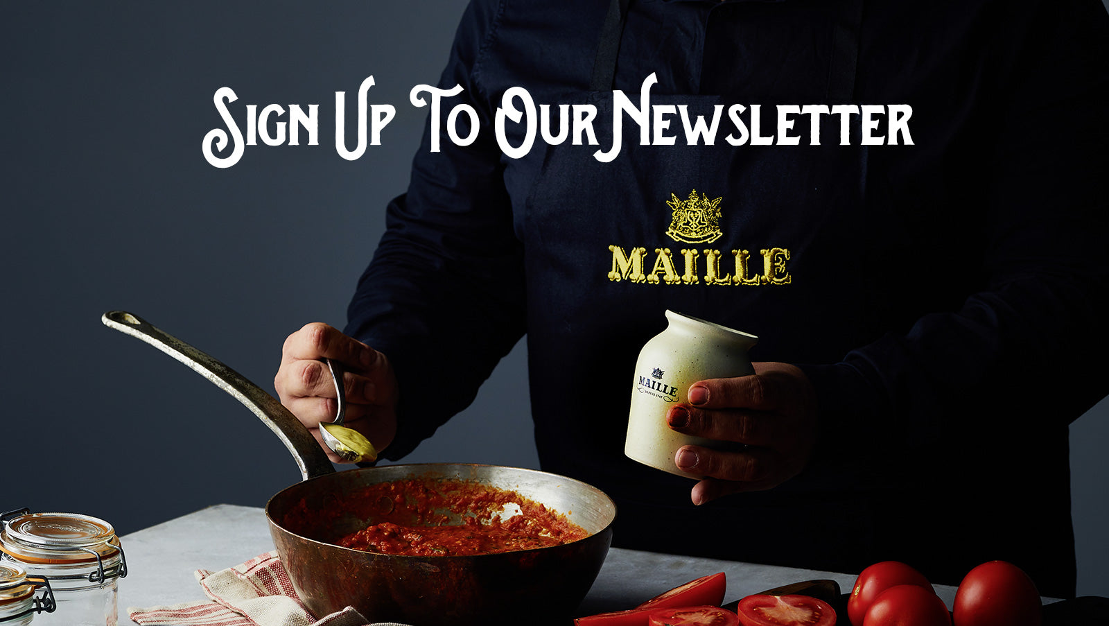 Maille, mustard, welcome, hampton court, explore, flavour
