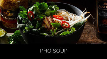 Maille, recipe, pho soup