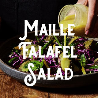 Maille, recipe, Falafel Salad