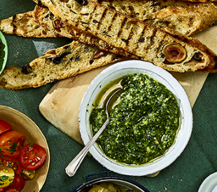 Maille Spinach dip