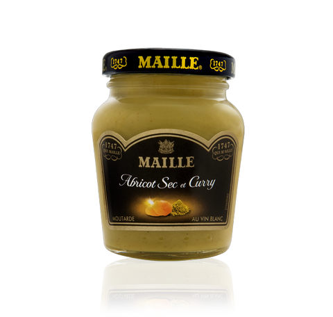 Maille Apricots, Curry Spices and White Wine Dijon Mustard, 110g