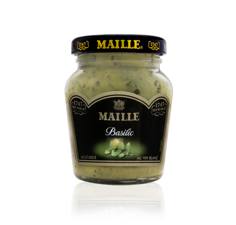 Basil and White Wine Mustard, 108g