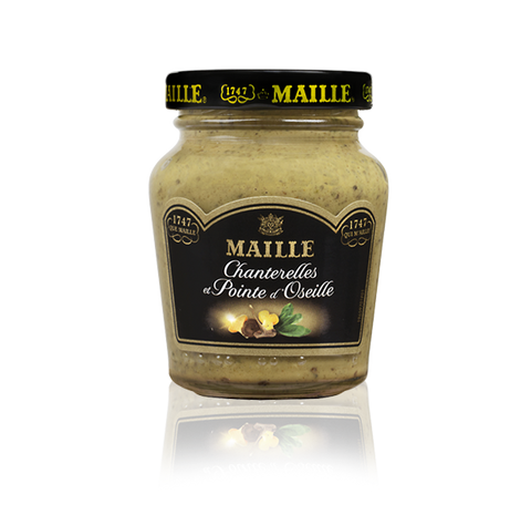 Maille Chanterelles, Sorrel Mushrooms and White Wine Mustard, 108g