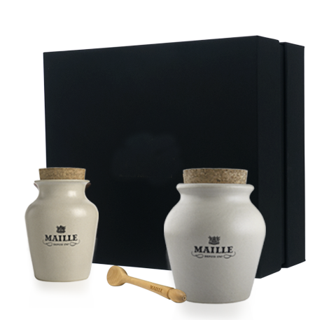 Maille Classic freshly pumped Mustard Collection