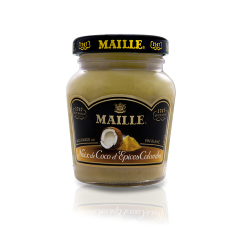 Maille Coconut, Colombo Spices and White Wine Mustard, 108g