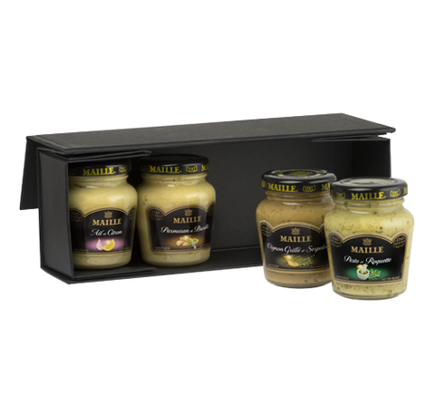 Maille Discovery Gourmet Mustard Selection