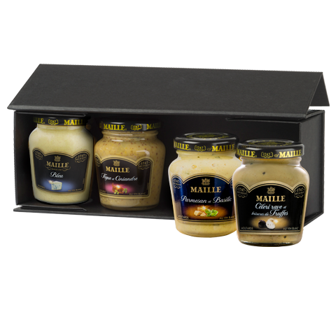 Gourmet Cheese Dijon Mustard Selection