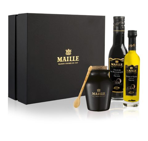 Maille Black Truffle Medley Collection