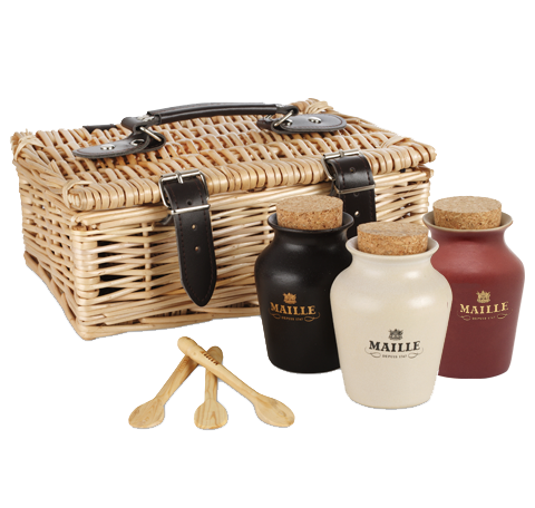Luxurious Mustard Trio Hamper
