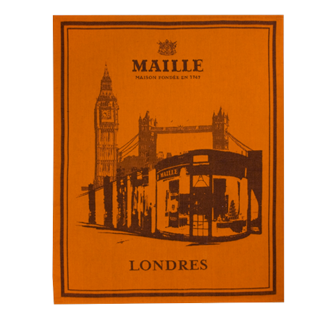Maille London Boutique Tea Towel