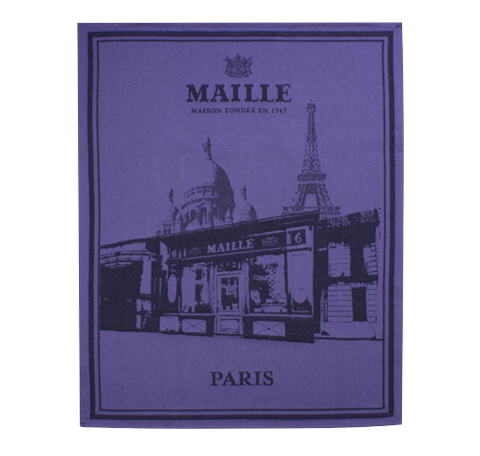 Maille Paris Boutique Tea Towel