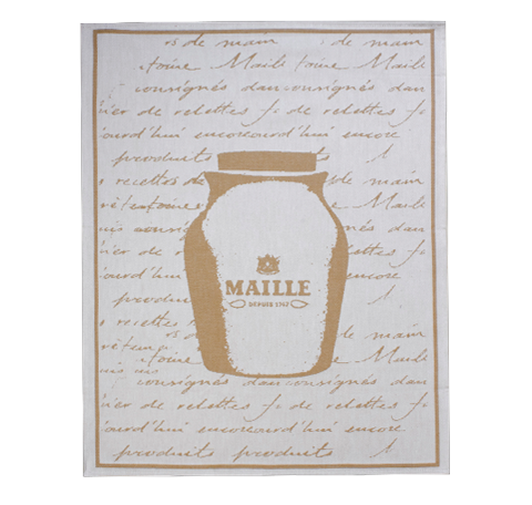 Maille Sandstone Jar Tea Towel