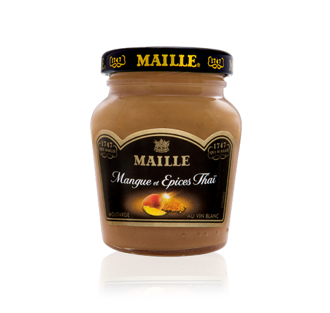 Maille Mango, Thai spices and White Wine Mustard, 108g
