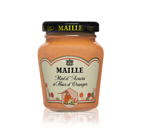 Maille Mustard with Acacia Honey and Orange Blossom, 108g